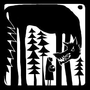 Wolfie B & W