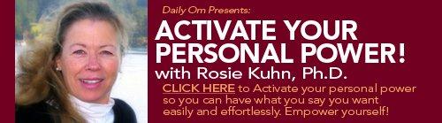 Rosie Kuhn for Daily OM