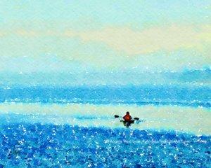 Kayaking the Silent Morning