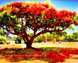The Royal Poinsetta Tree