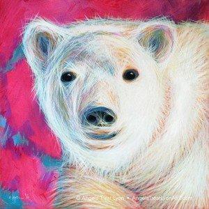 Even Polar Bears Love Pink